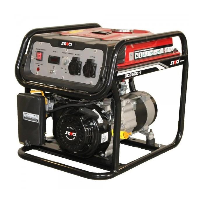 Бензинов генератор SENCI SC-2500 / 2.2kW, AVR
