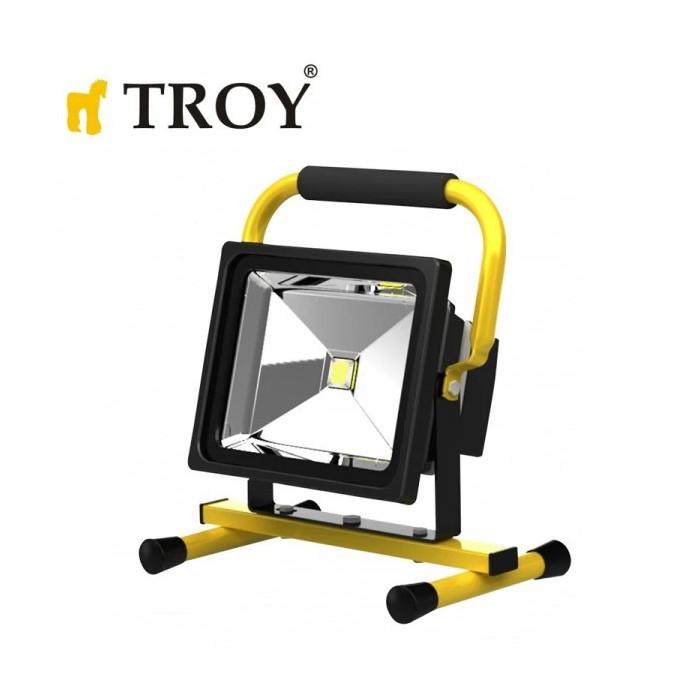 Прожектор COB LED със стойка TROY 28003 / 30 W