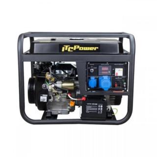 Бензинов монофазен генератор Hyundai GG 9000 LE