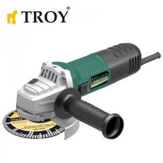 Ъглошлайф TROY 12127 / 0.82 kW / 125 mm