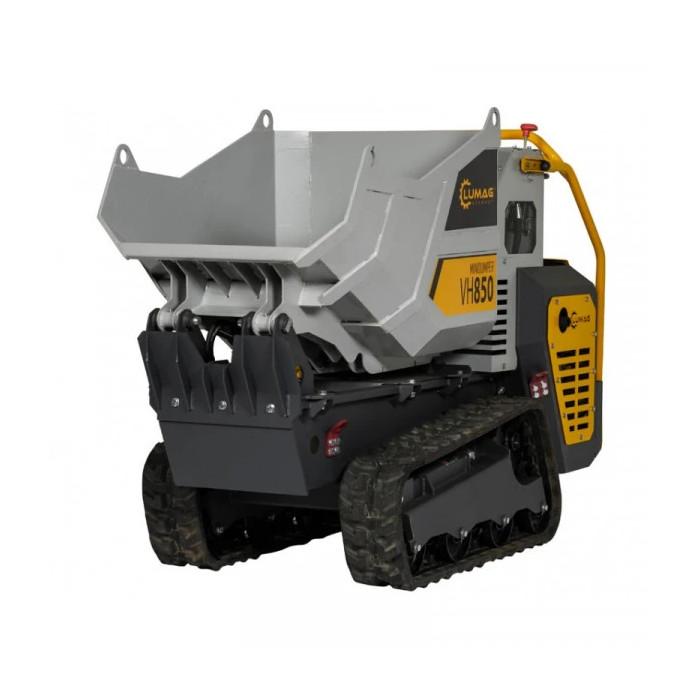 Хидравличен мини дъмпер LUMAG VH 850 D / YANMAR 9.4 к.с