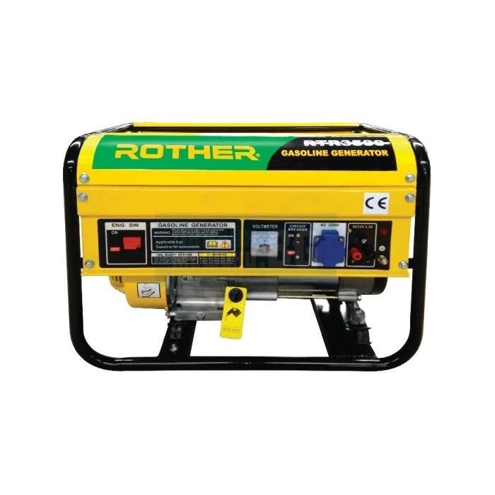 Бензинов монофазен генератор RTR Rother 3500 /2.7kW
