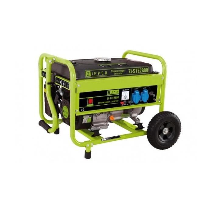 Бензинов монофазен генератор ZIPPERR ZI-STE2800 / 2.8 kW