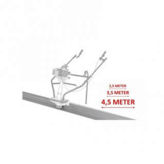 Дъска за вибромастар за бетон 450 cm LUMAG 5PL450