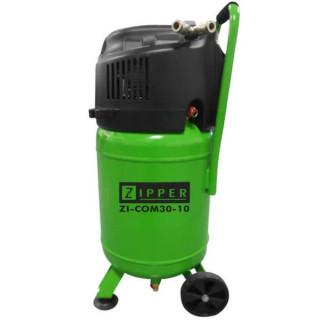 Въздушен безмаслен компресор ZIPPER ZI-COM30-10 /1.5 kW, 10 bar