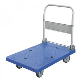 Количка тип платформа с бандажни колела Fervi C300