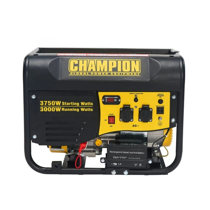 Бензинов генератор 3500 W CHAMPION CPG4000E1-EU
