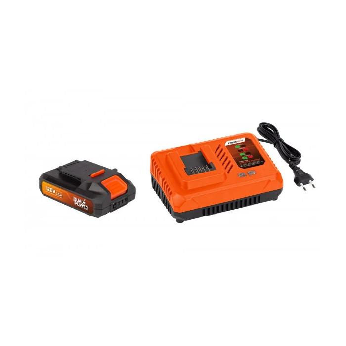 Комплект зарядно и Li-Ion батерия POWER PLUS POWDP9062