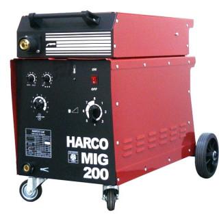 Телоподаващ заваръчен апарат HARCO MIG 200 PROFI / 3x380V