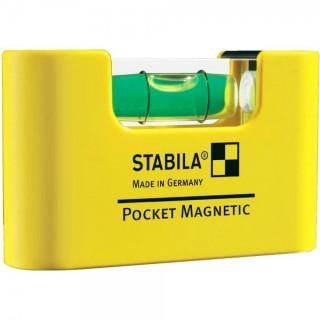 Джобен нивелир STABILA Pocket Magnetic 7 cm