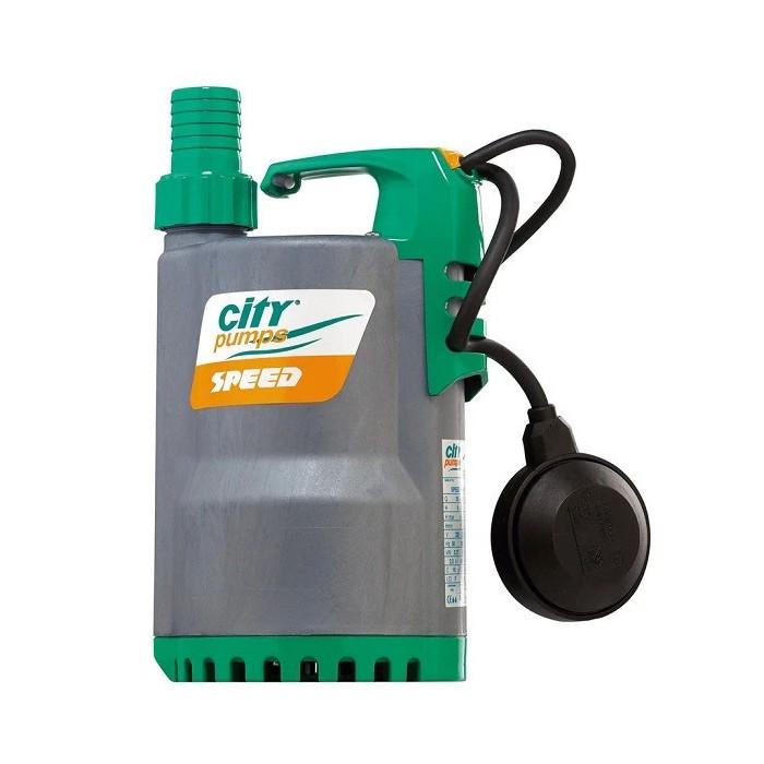 Дренажна помпа SPEED 125M, CITY, Q: 1.2 – 24 m³/h, 20-400 l/min