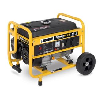 Бензинов генератор 3000W POWER PLUS POWX513
