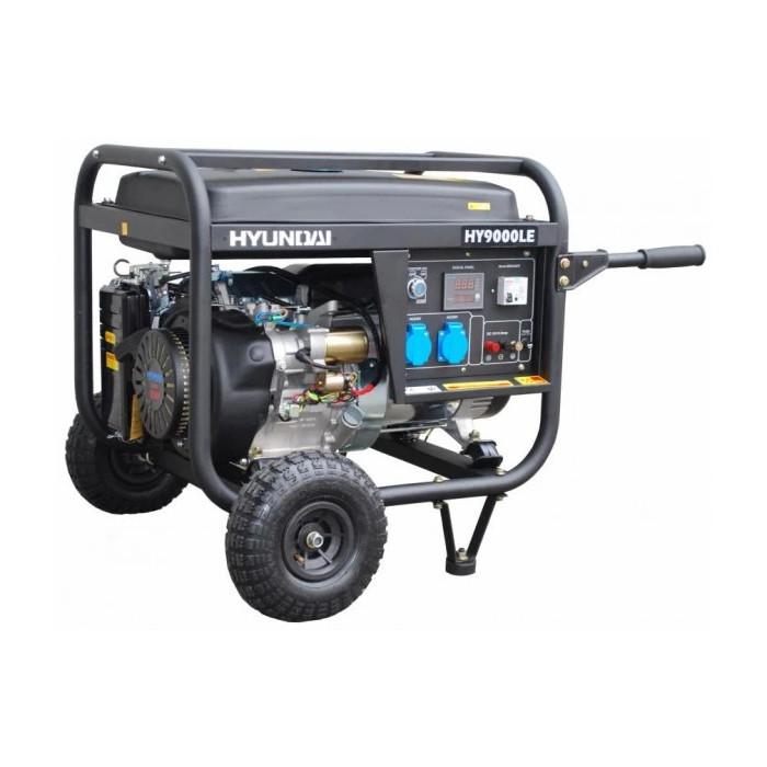 Бензинов генератор Hyundai HY 9000 LEK