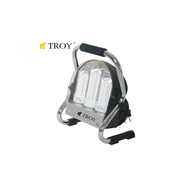 Енергоспестяващ прожектор TROY 28000 удароустойчив / 24W-36W-60W