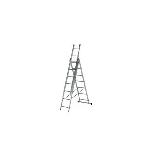 Алуминиева три секторна стълба 3х7