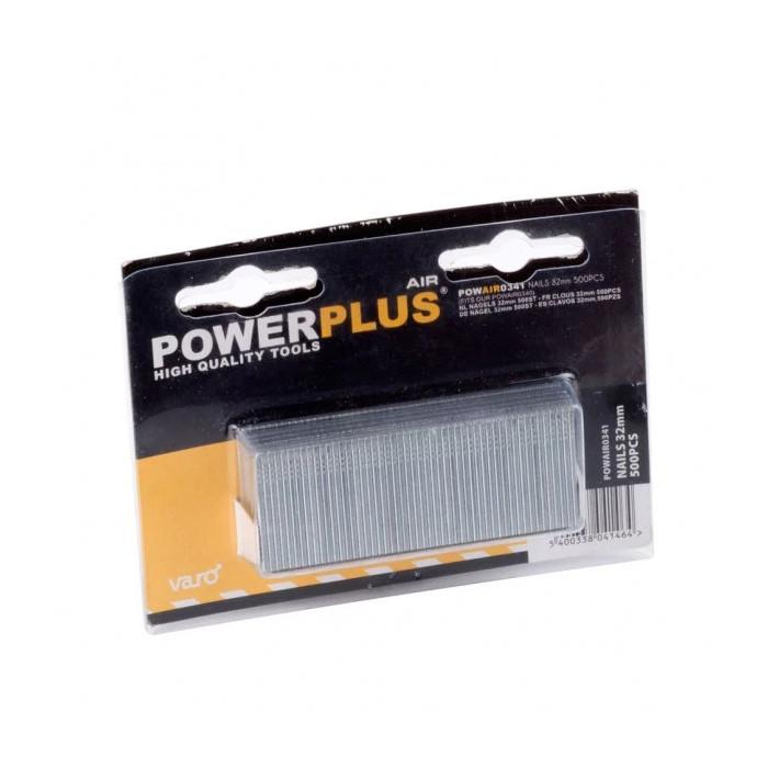 Пирони за пневматичен такер POWER PLUS POWAIR0341 / 32mm
