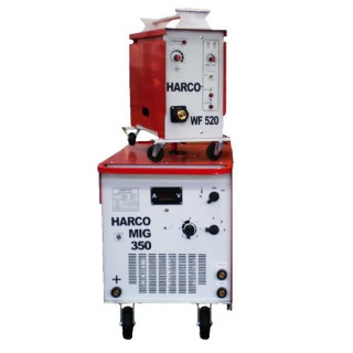 Телоподаващ заваръчен апарат HARCO MIG 350 + HARCO WF 520