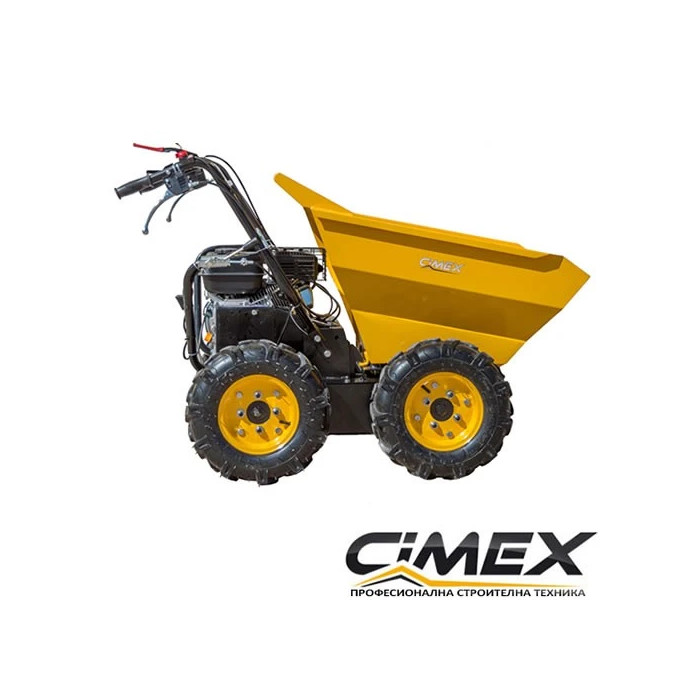 Мини дъмпер CIMEX 4х4 с товароносимост 300 кг