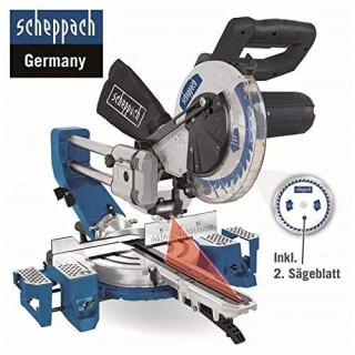 Комбиниран потапящ циркуляр за ъглово рязане Scheppach HM90SL