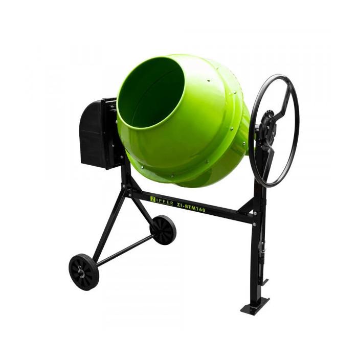 Бетонобъркачка ZIPPER ZI-BTM160 / 0.65 kW, 160 l
