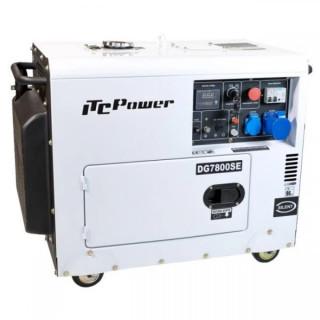 Дизелов обезшумен генератор с ел.стартер Hyundai DG 7800SE