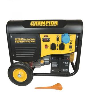 Бензинов генератор 5500 W CHAMPION CPG6500Е2-ЕU