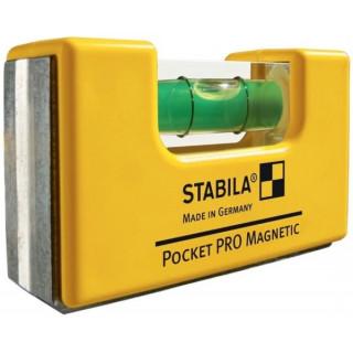 Джобен електорнен нивелир STABILA Pro Pocket Magnetic 7 cm