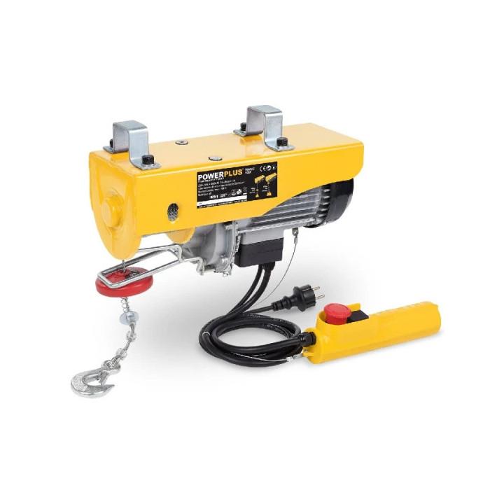 Електрически телфер POWER PLUS POWX902 / 1050W, 300/600kg