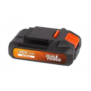 Акумулаторна батерия POWER PLUS POWDP9022 / 20V Li-Ion, 2.0Ah LG