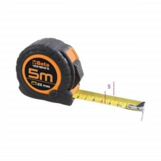 Ролетка удароустойчива с ABS корпус 5 м Beta Tools 1691BM/5