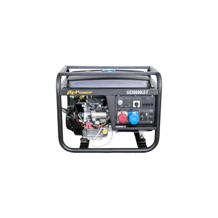 Трифазен генератор с ел,стартер Hyundai GG 10000LE/T
